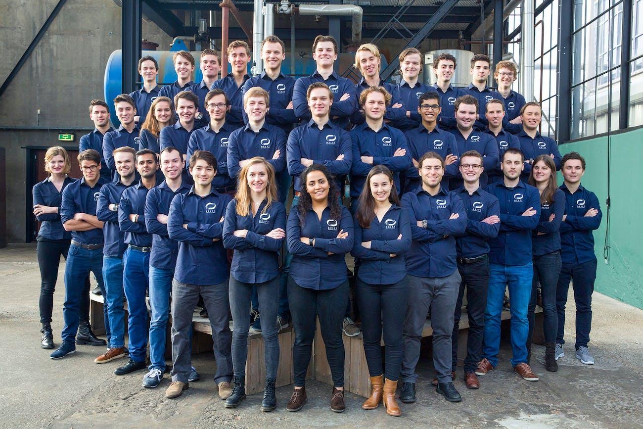 The second Delft team.