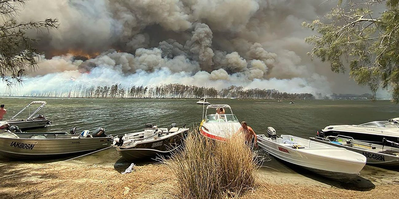 climate change australia fires