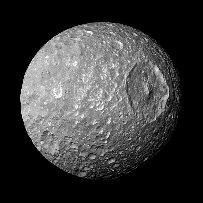 mimas saturn moon death star