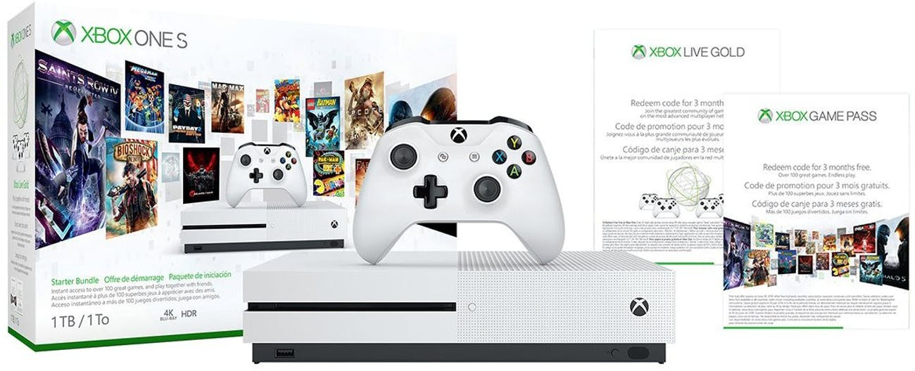 This is a great starter bundle for the Xbox One S.