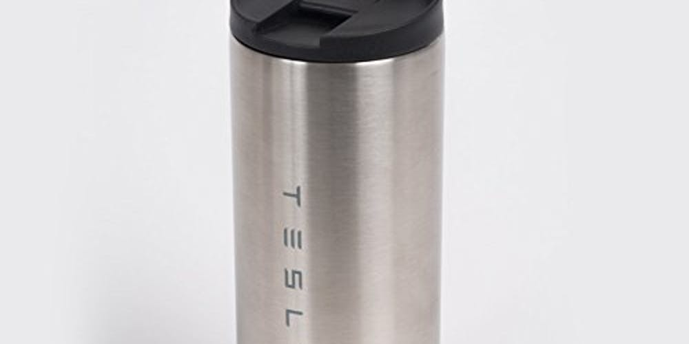 Tesla Stainless Steel Travel Mug/Tumbler 16oz