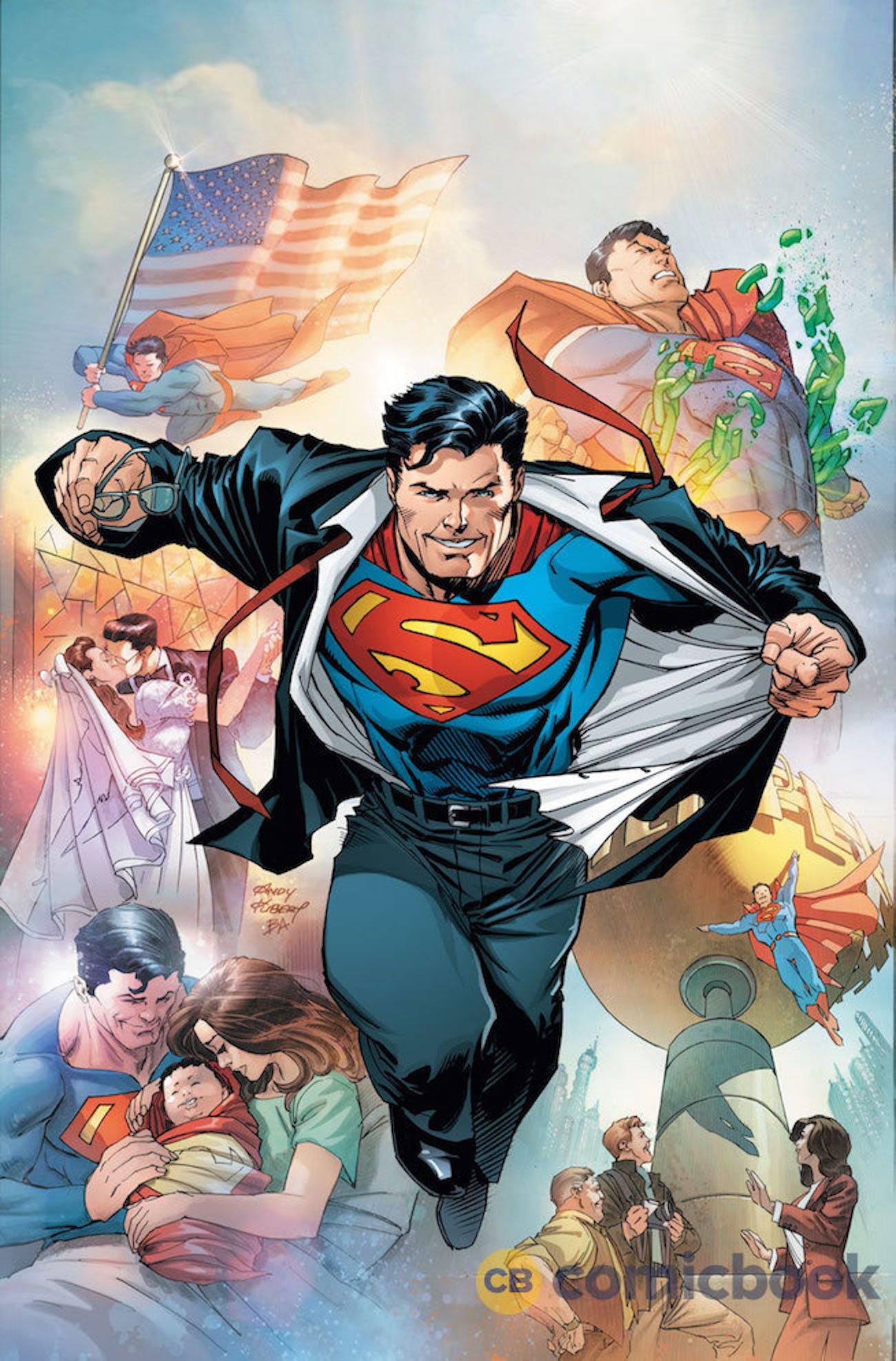 Superman Rebirth New Costume Action Comics