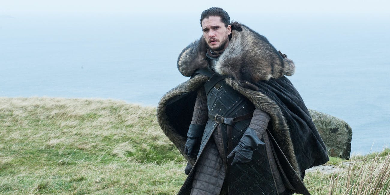 Kit Harington as Jon Snow in 'Game of Thrones' Season 7 episode 5