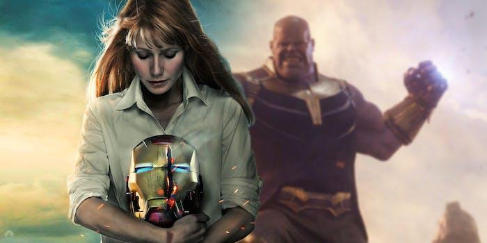 Iron Man Pepper Potts