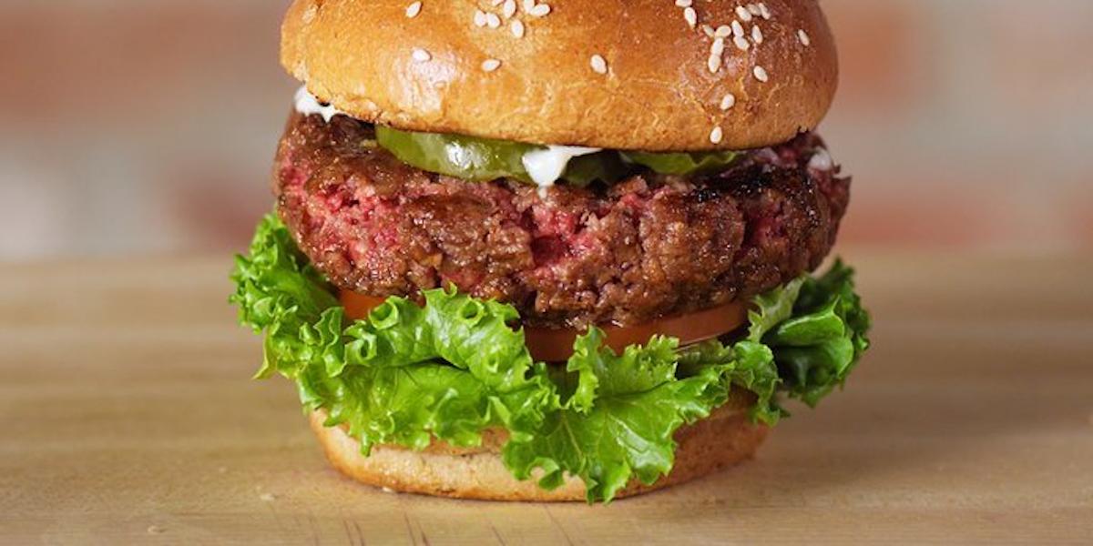 lab grown burger