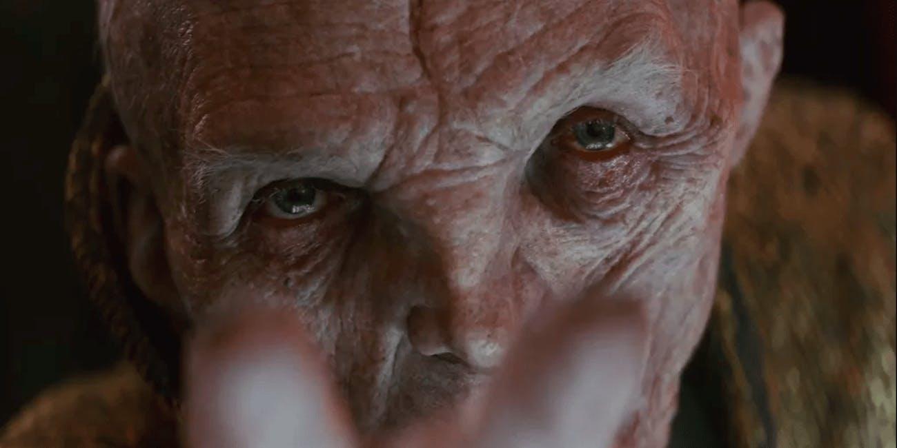 Snoke Palpatine Star Wars IX The Rise of Skywalker