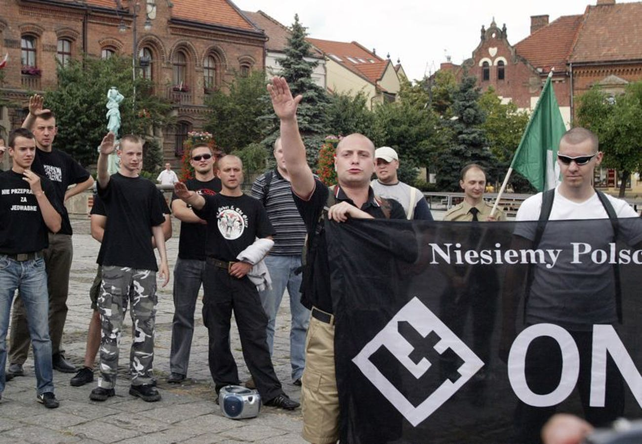 ONR polish fascist group destructive games