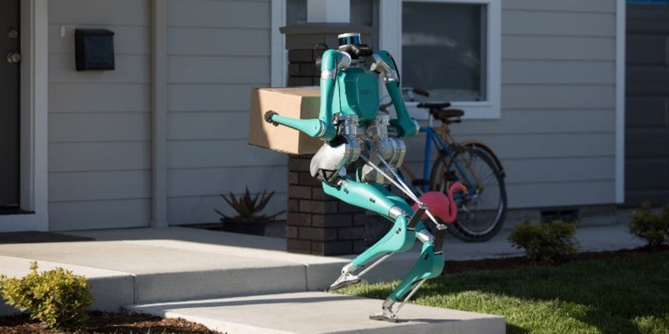 digit robot delivery