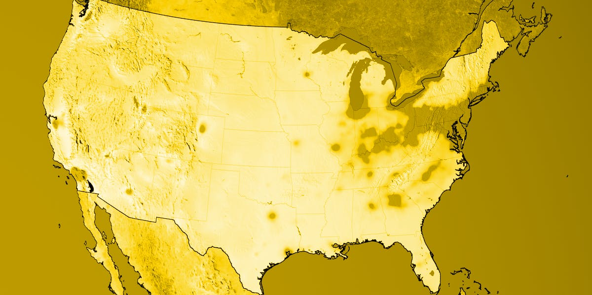 NASA Maps Show Better Air Quality In The USA Worse Air Quality In - Air pollution us map