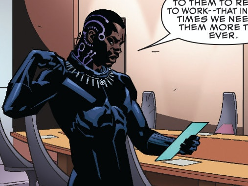 Black Panther Writer: Marvel 'Put a Chip in My Head' to Stop Leaks