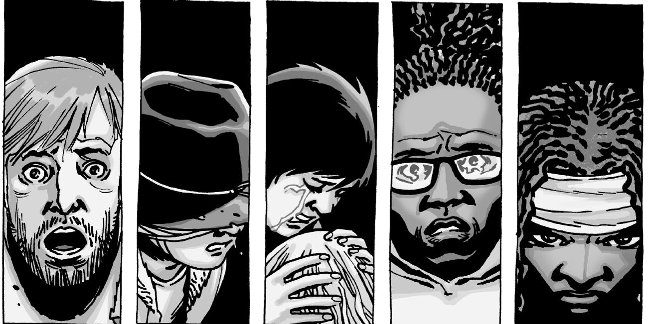 who kills alpha and beta in the walking dead comics