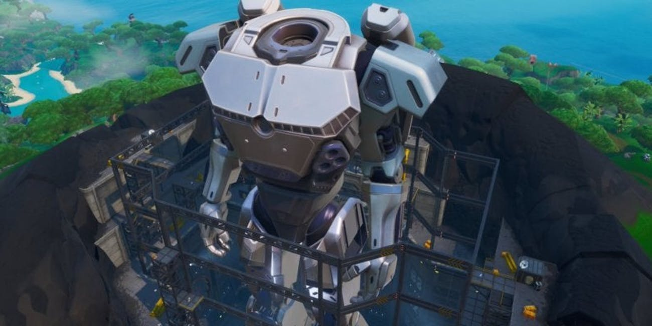 fortnite doggus robot