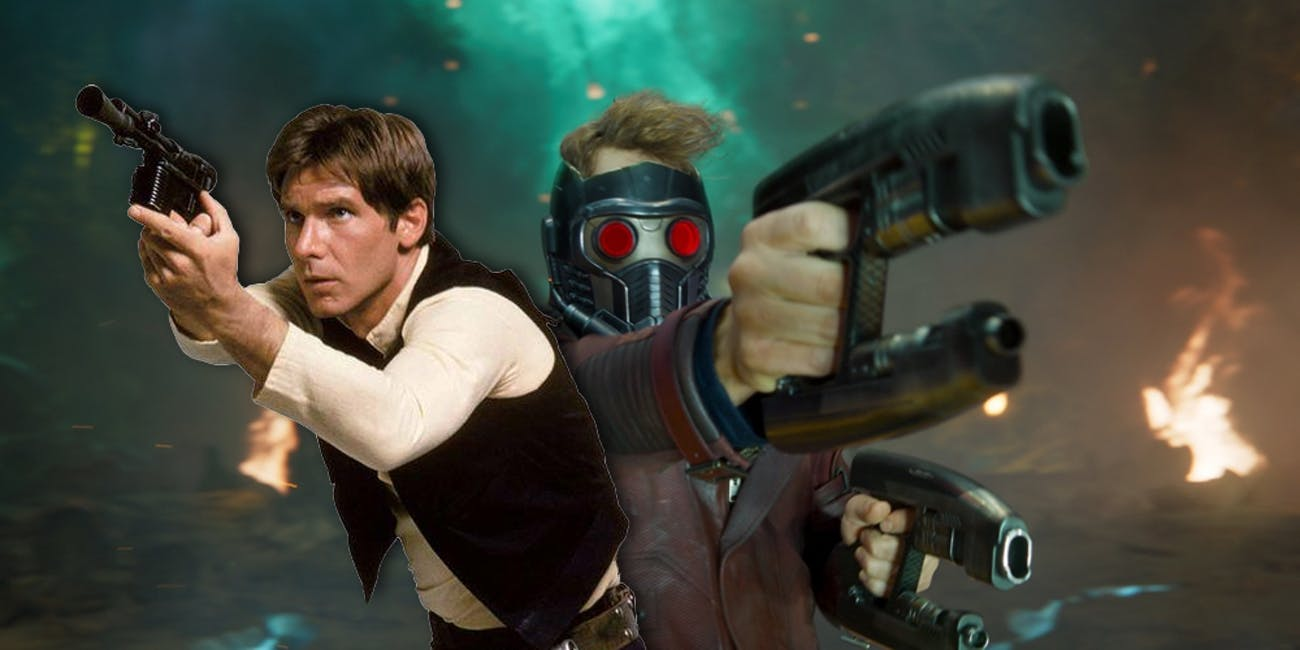 Star Wars Star Lord Guardians of the Galaxy