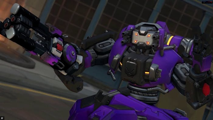 You'll face several Orisas in Uprising with this Null Sector skin.