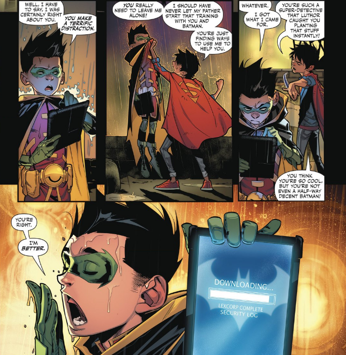 One of these days, Jon's gonna snap and beat the living crap out of Damian.