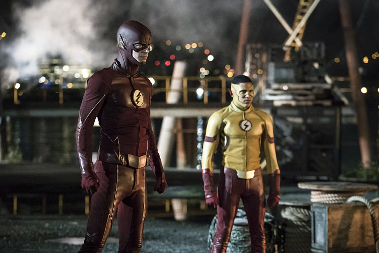 The Flash Kid Flash Wally West Season 3