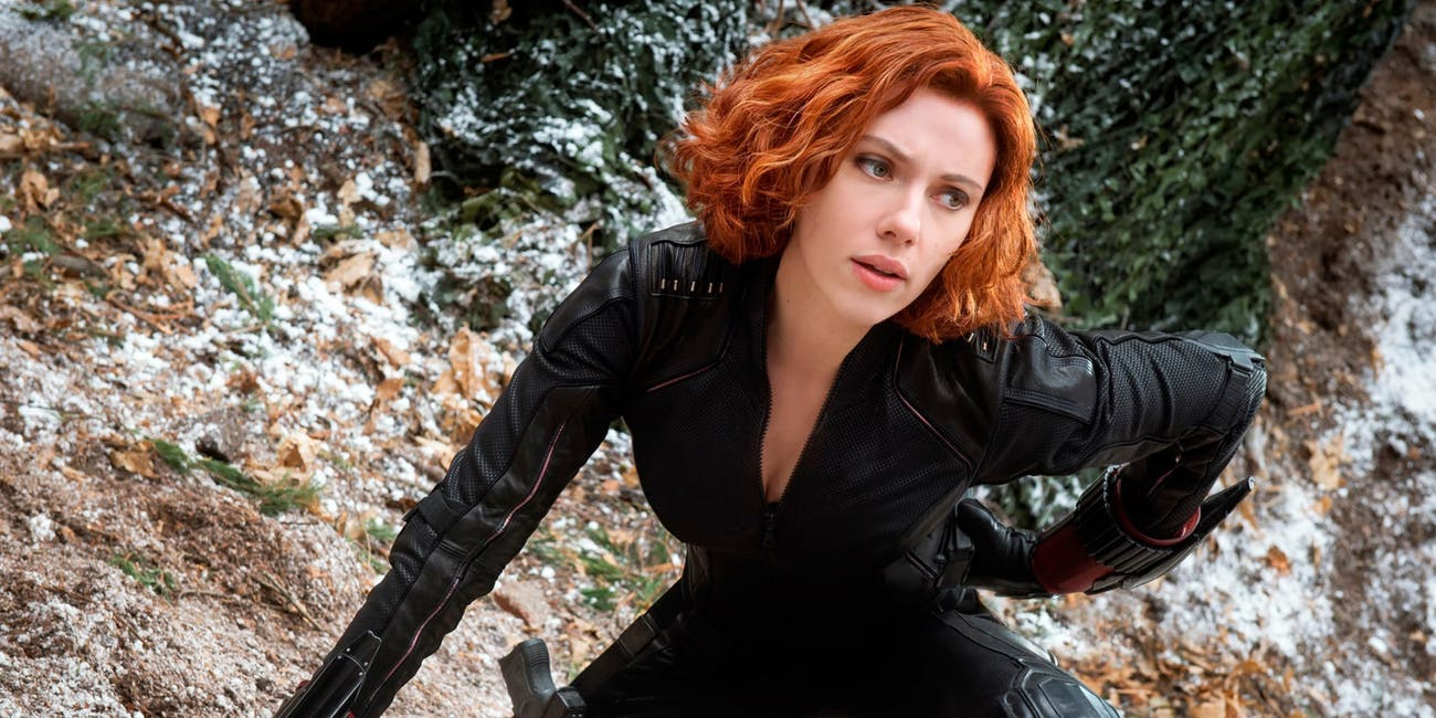 Black Widow Scarlett Johansson Marvel