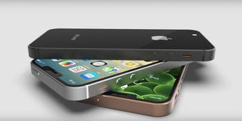 unoffical renders of the iPhone SE 2