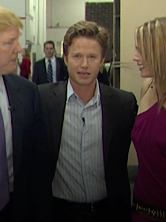 Billy Bush and Donald Trump at a 'Celebrity Apprentice' red carpet event