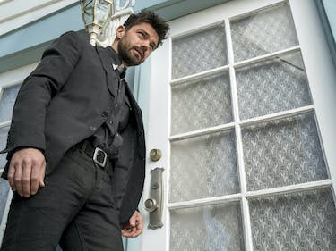 Jesse Custer Harnesses Holy Powers and Punishes a Pervert in 'Preacher'