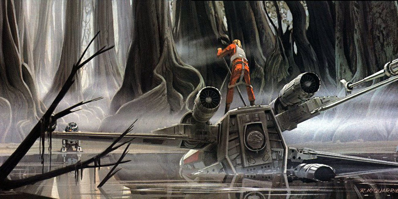 Evidence Luke Skywalker Crashed His X Wing In The Last Jedi