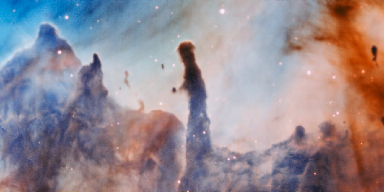 "The ""Pillars of Destruction"" in Carina Nebula."