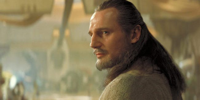 Liam Neesn as Qui-Gon Jinn