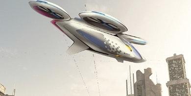 Future Airbus taxi