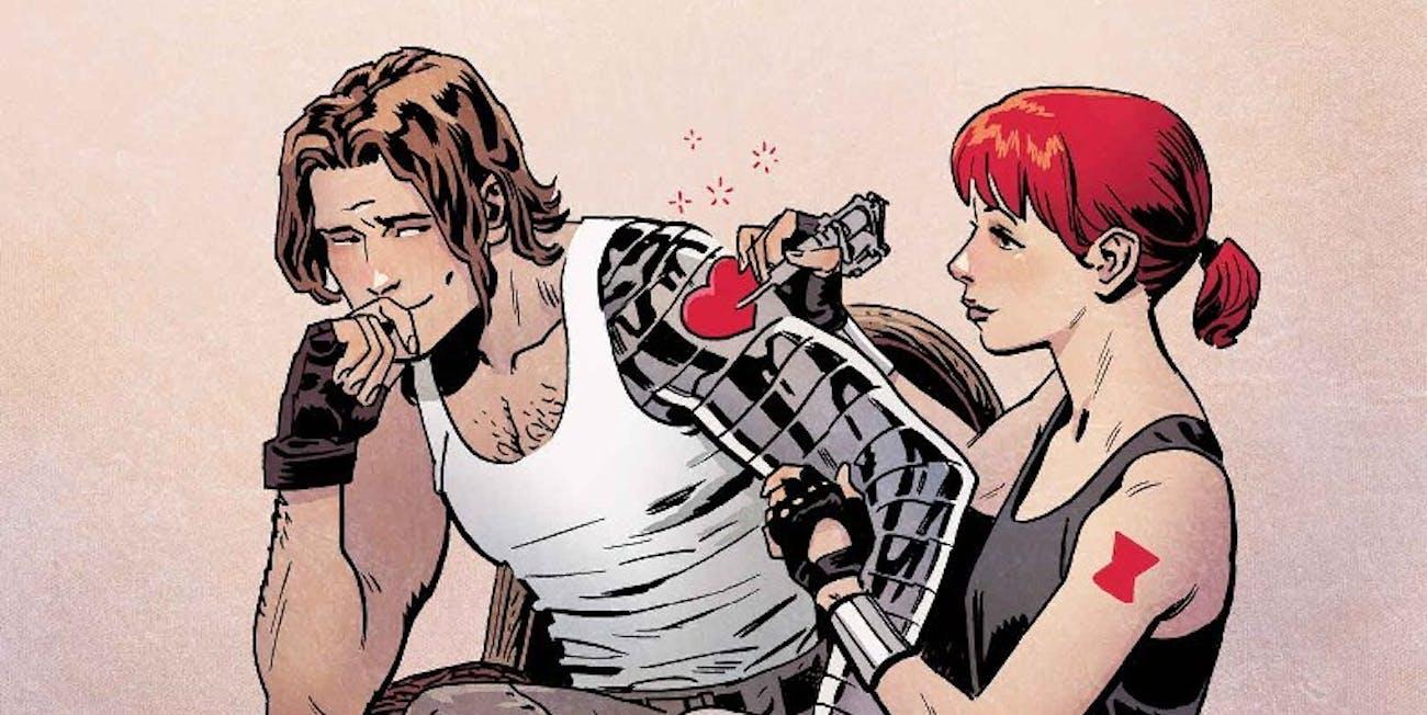 Marvel Comics Black Widow #10 Cover