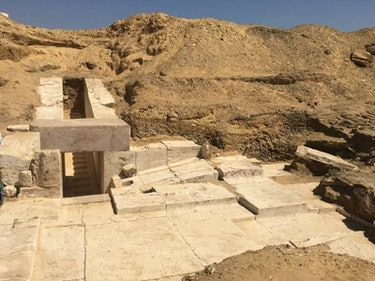 Archaeologists Found Another Ancient Egyptian Pyramid