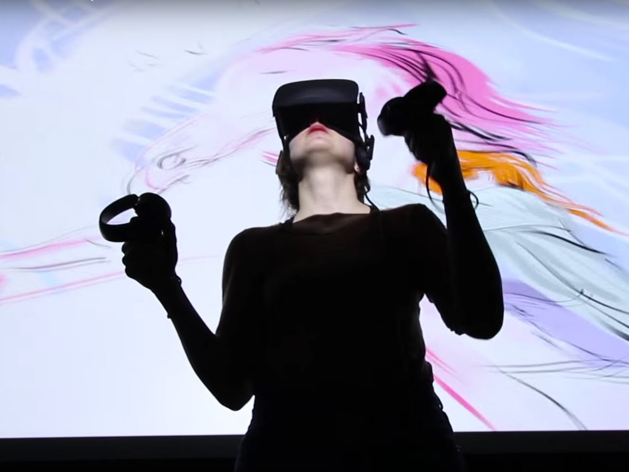 Virtual Reality Has Arrived, With Japanese Robots and Space Painting