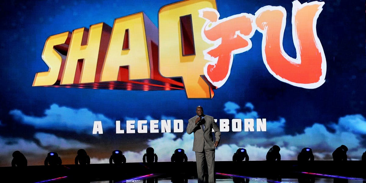 Shaq Fu Game Awards