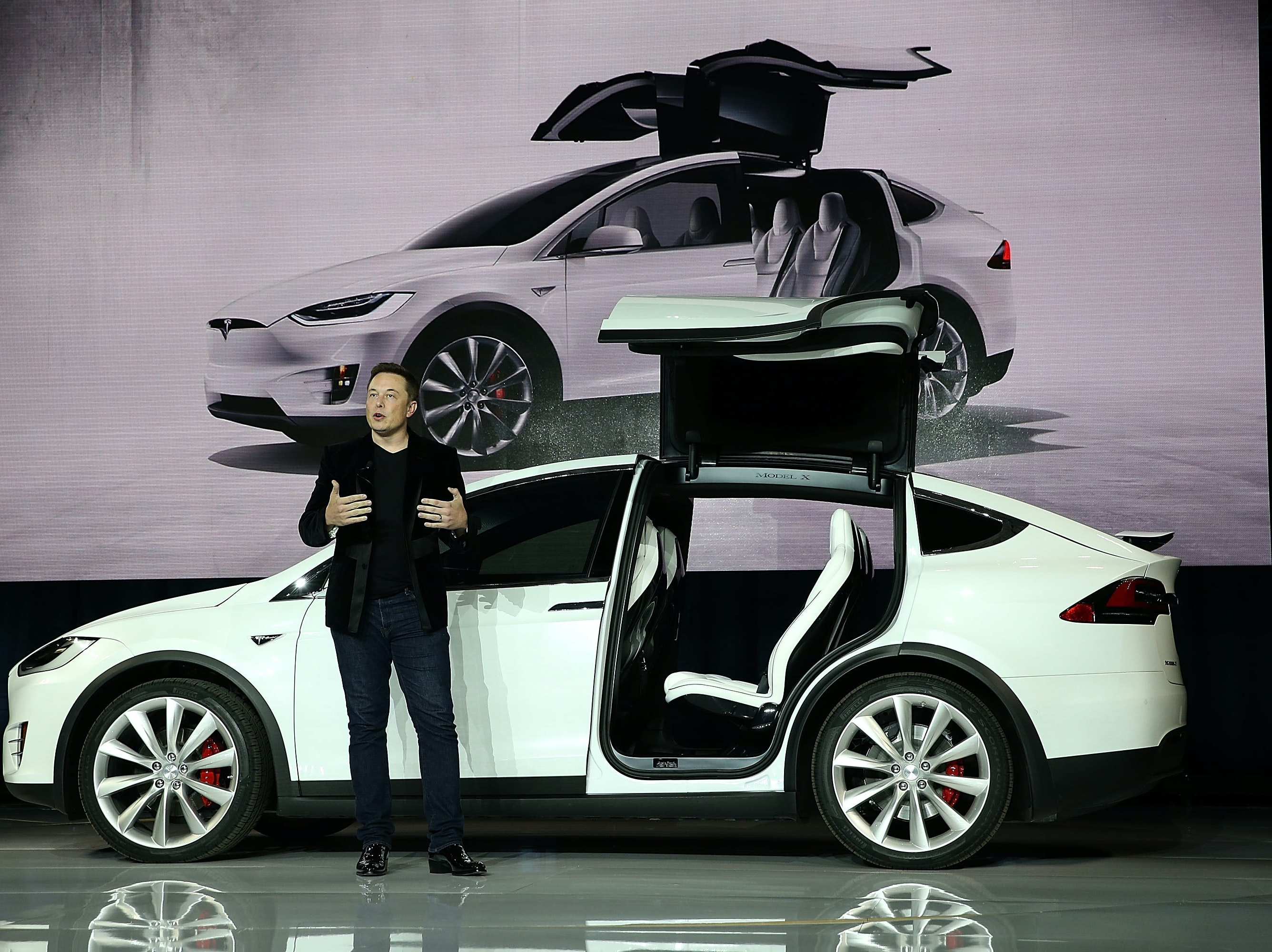Elon Musk says he's not worried about the future of Tesla under Trump.