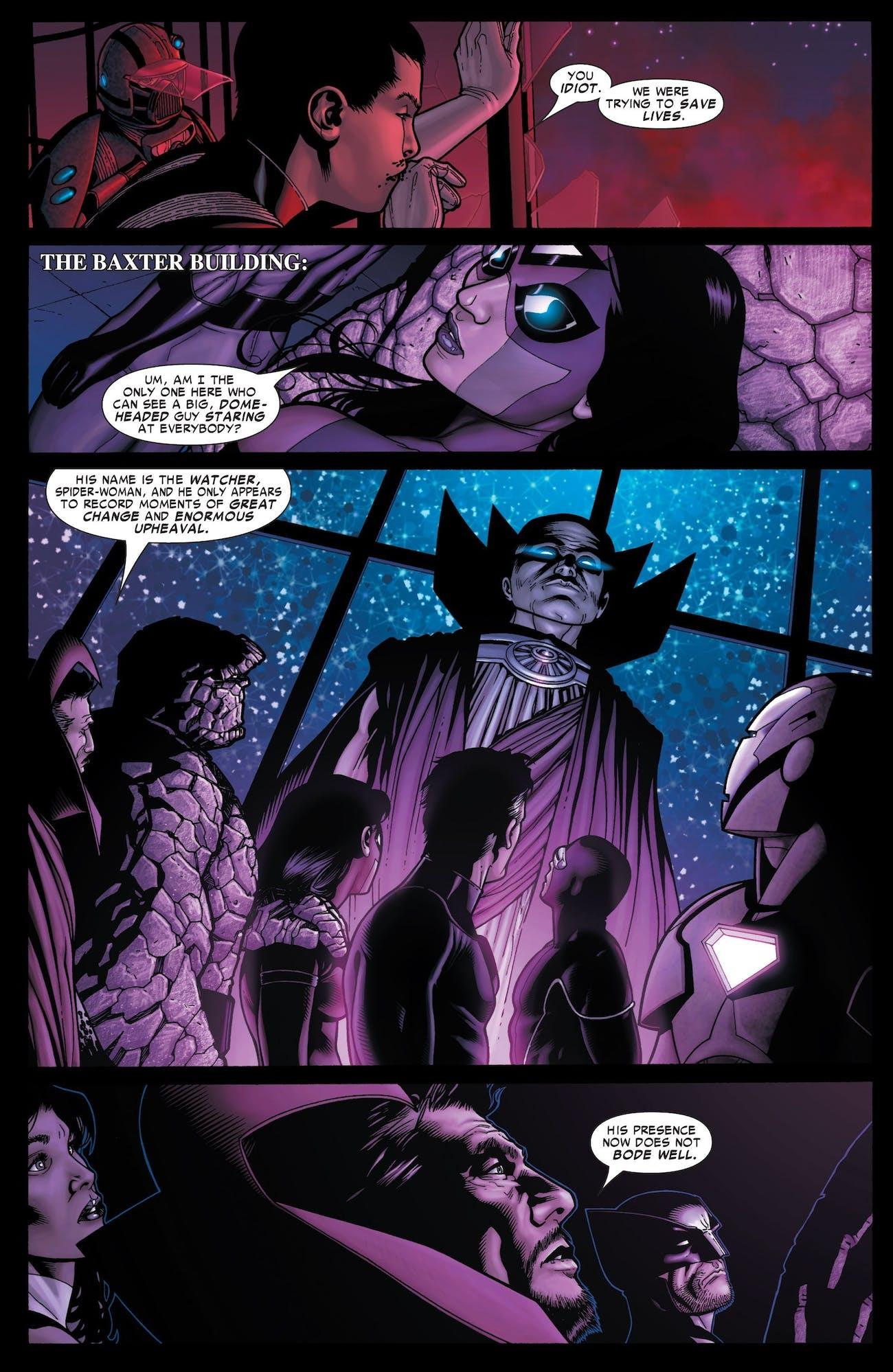 Uatu the Watcher Stan Lee