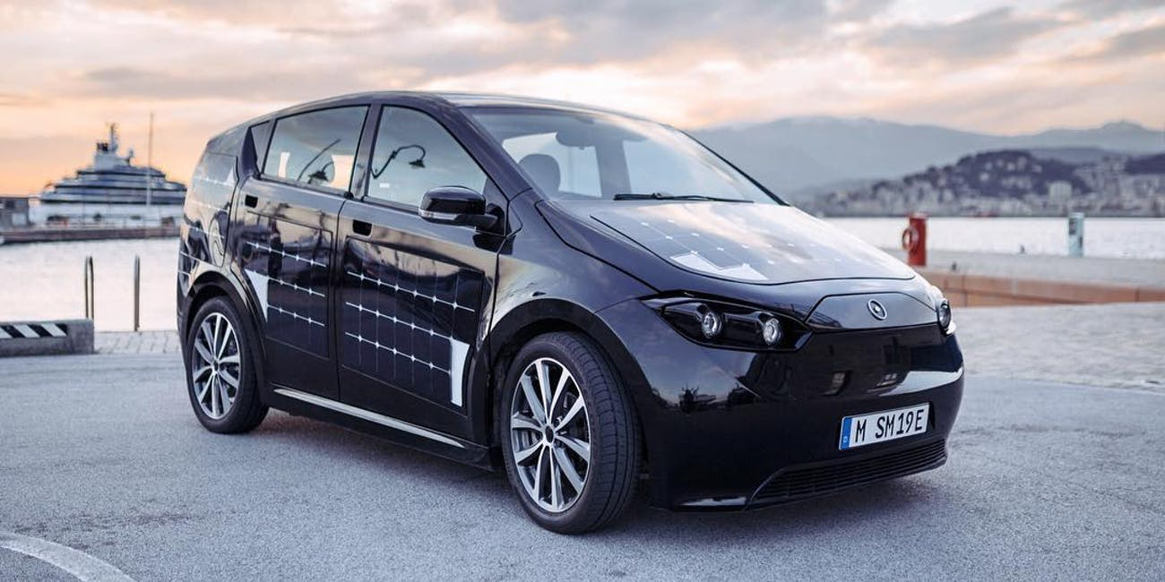 Sono Motors Sion Solar Powered Car