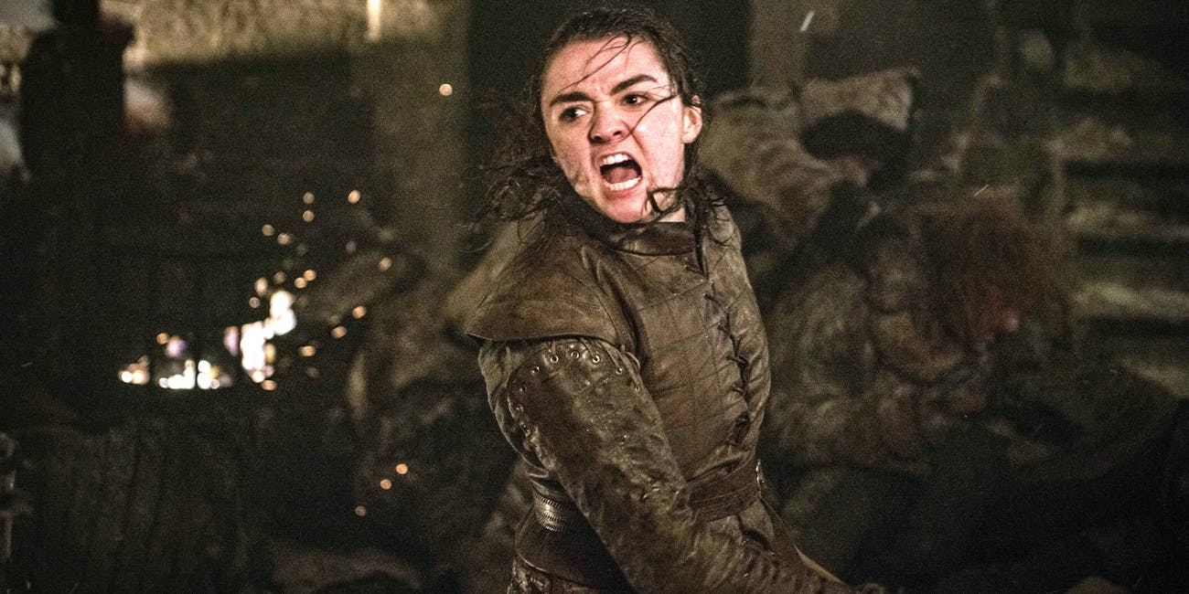 arya game of thrones season 8 episode 3