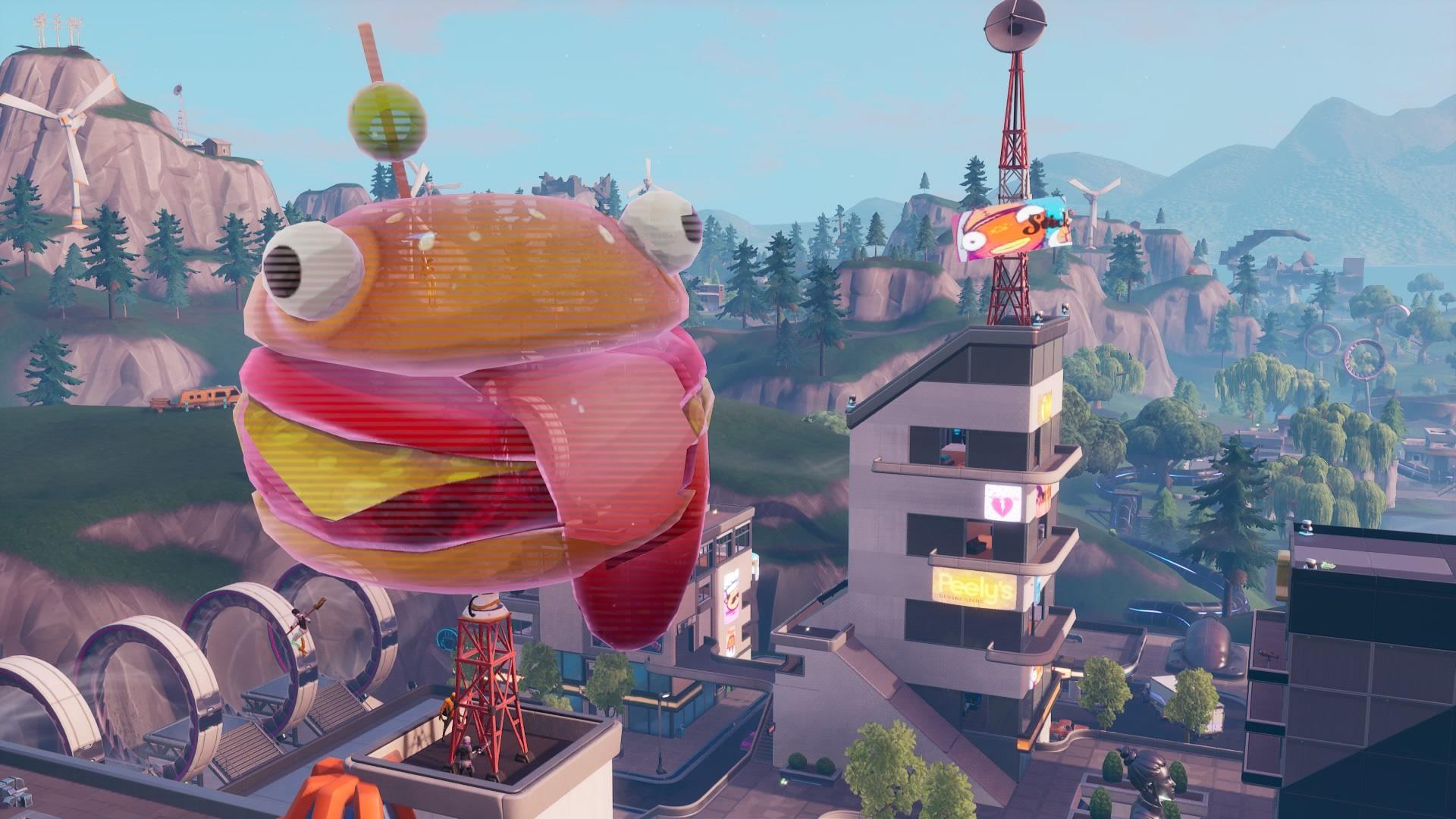 Fortnite Tomato Head Durr Burger And Giant Dumpling