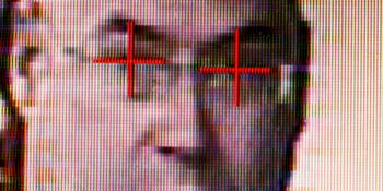 Facial recognition technology.