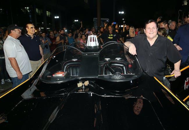Batman Batsignal LA Adam West