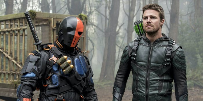 Deathstroke is one of the best characters on 'Arrow'.