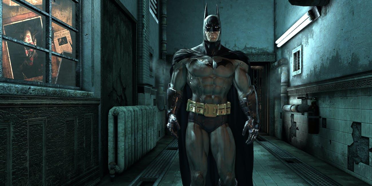 Batman Justice League Arkham Asylum