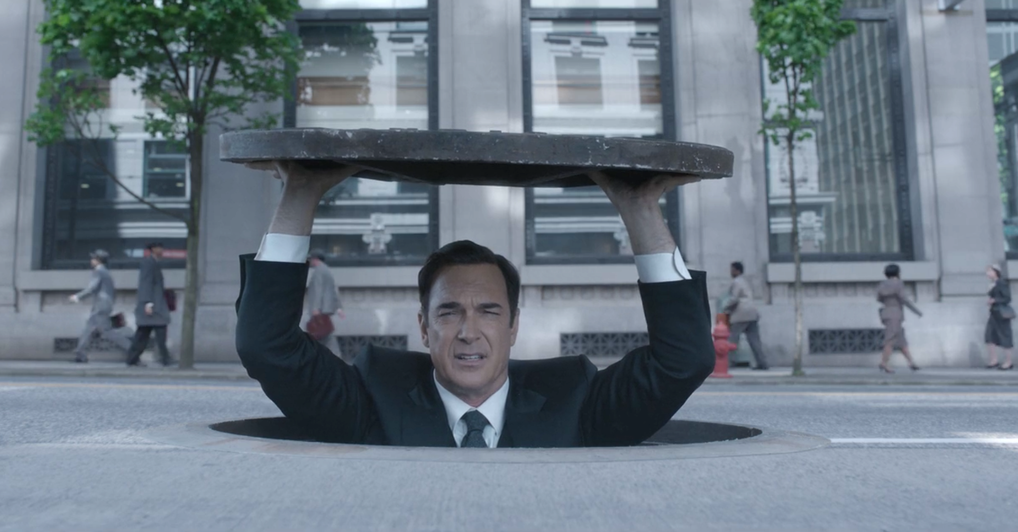Patrick Warburton as Lemony Snicket in 'A Series of Unfortunate Events'