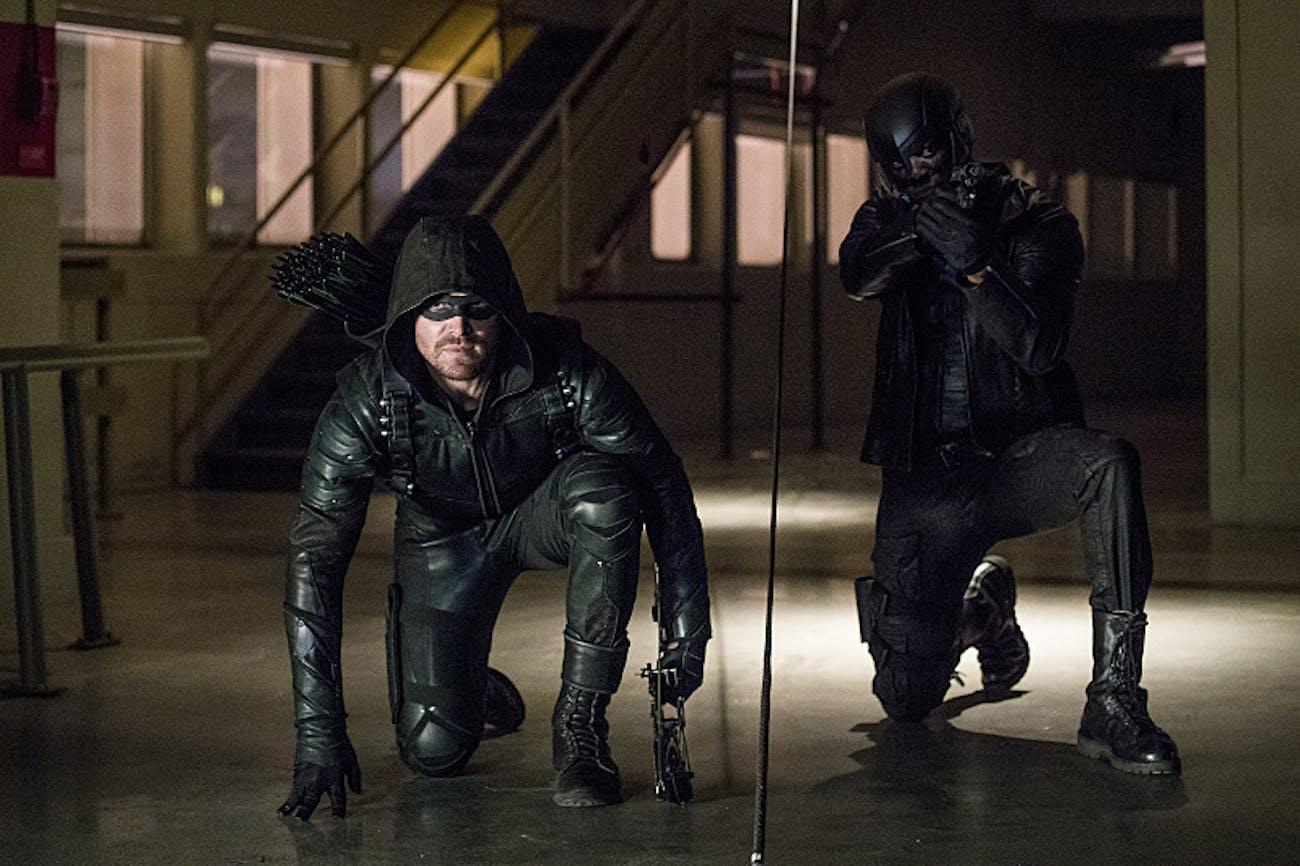 Arrow Spartan CW