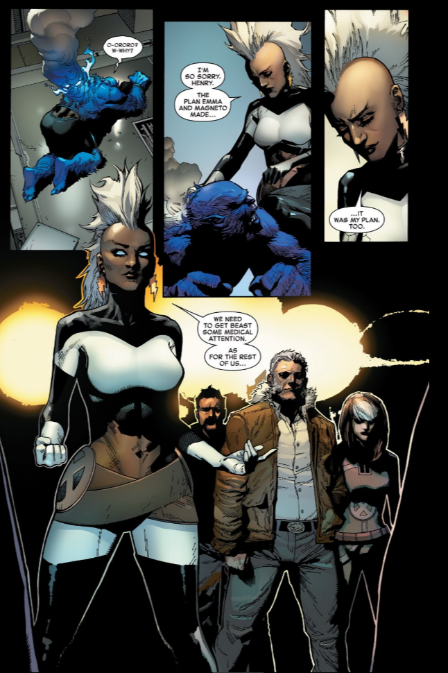 page from Inhumans vs X-Men #1