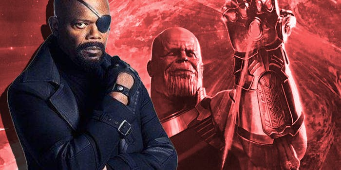 Nick Fury Infinity War Post-Credits Scene