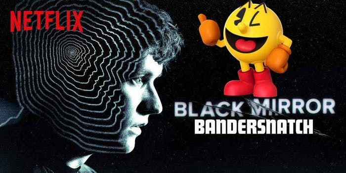 black mirror bandersnatch spoilers pac man