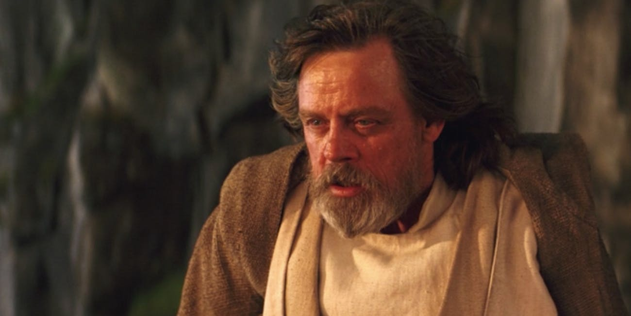 Mark Hamill actually cried while filming 'The Last Jedi'