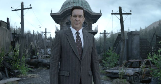 Lemony Snicket in Netflix's 'A Series of Unfortunate Events'