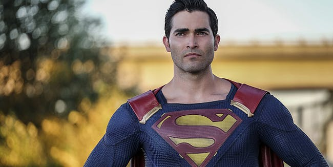 Superman Tyler Hoechlin Supergirl Season 2
