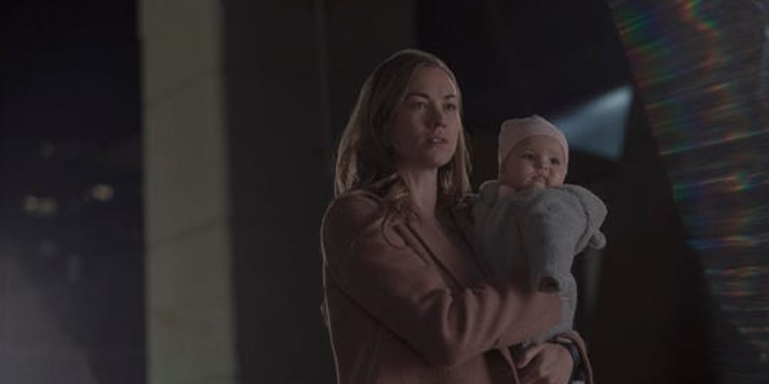 Yvonne Strahovski as Serena in 'The Handmaid's Tale.'